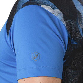 asics fuzeX Hardloopshirt korte mouwen Heren blauw